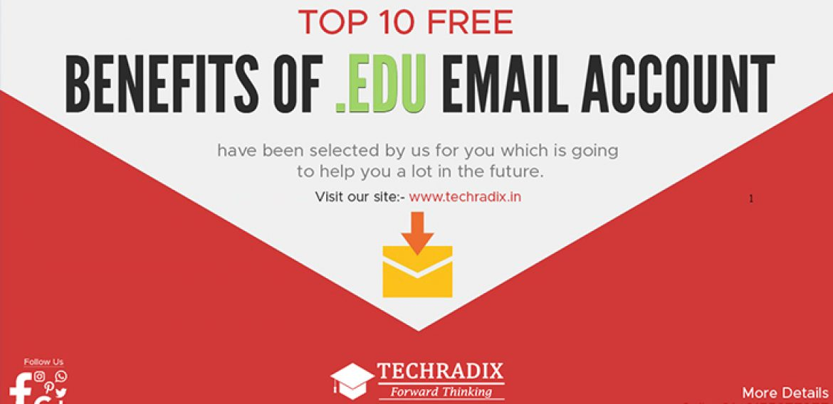 Benefits Of Having A .EDU Email Account From Any University